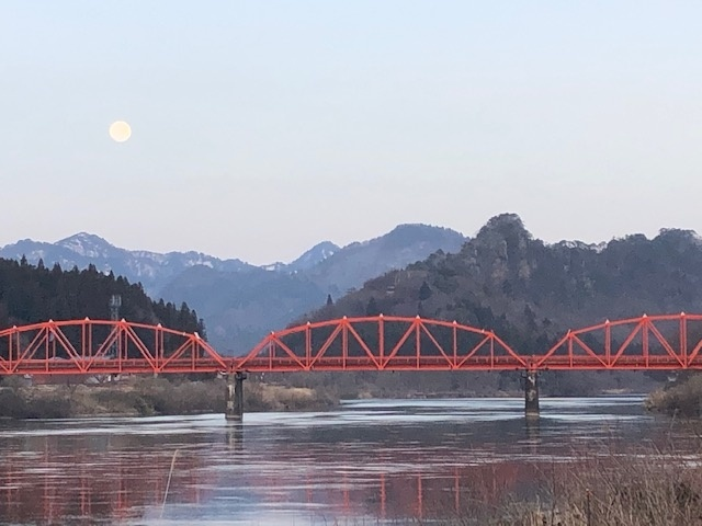 阿賀町ランドマーク(麒麟山、きりん橋)