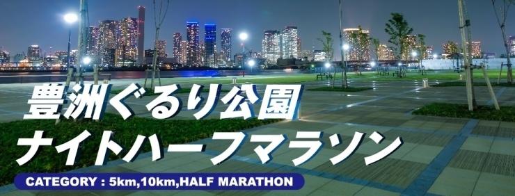 第2回豊洲ぐるり公園ナイトハーフマラソン