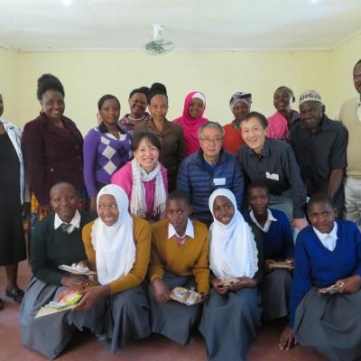 WRJの奨学生達とタンザニアにて