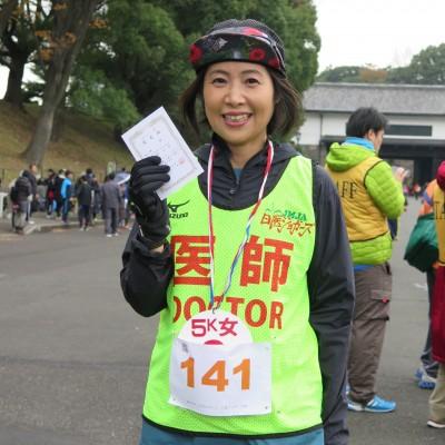 日本医師ジョガーズ連盟のみなさまから医療サポートをいただいています。