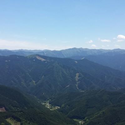 御杖の山々
