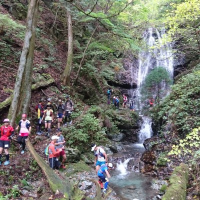 三峯山 不動の滝