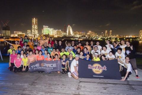 横浜にランナー大集合!1年に1度のナイトラン2019
