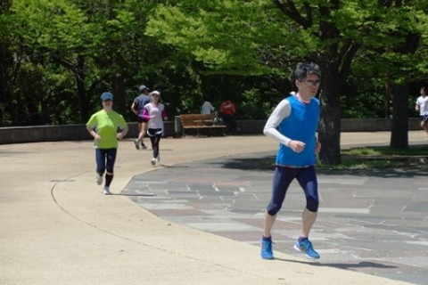 4/23(日) 練習会「10km~20km ペース走in亀戸中央公園」