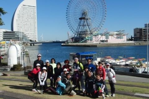 1/21(木) <平日ロング走企画>横浜マラニック21km