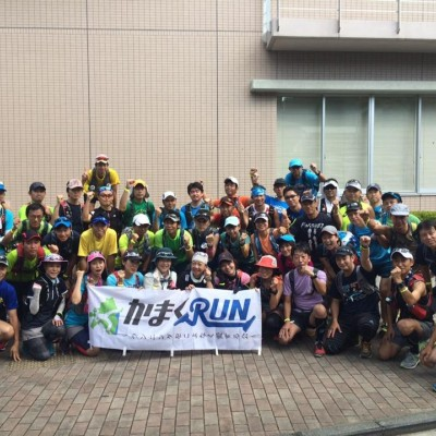 【かまくRUN】東京Mコース試走会 距離:約42k(前半21k+後半21k)