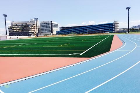 DACスピードトレ@浦安陸上競技場