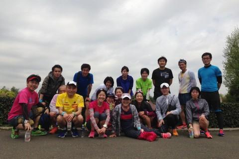 ランステ:エアラン・かまくRUN合同企画「月例20㎞ビルドアップ走」@新横浜 12月