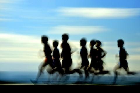 """サブ3.5突破!""""20kmビルドアップ走・コアランニングスクール180分練習会"""