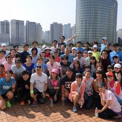 【1月会】横浜ベイクォーターランニングクラブ練習会