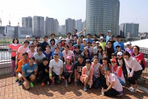 【7月会】横浜ベイクォーターランニングクラブ練習会