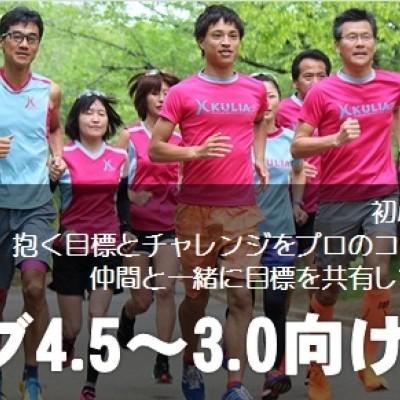 [3月]火曜日サブ4.0~3.0向け/ビルドアップRUN練習会 in 東京体育館