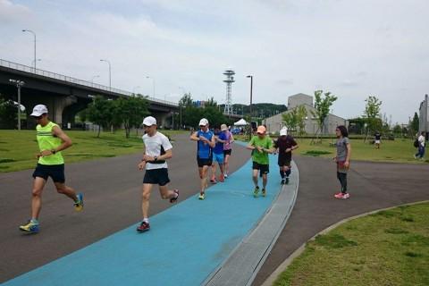 新横浜30km走