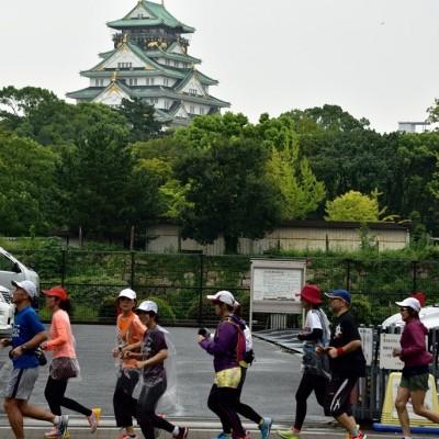 大阪マラソンコース(前半部分)試走練習会