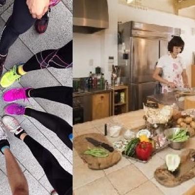 3/25(土) RUN + 料理教室 『...