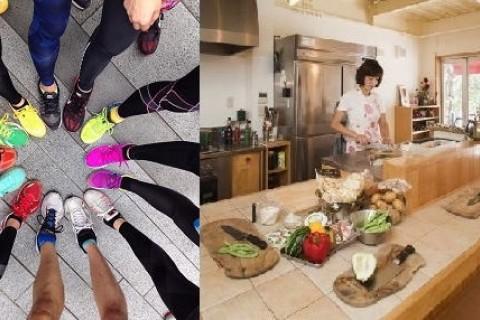 11/12(土) RUN + 料理教室 『EEJ & Cooking November』