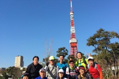 ランステ:「東京」の新コース 変更部分ダイジェストラン 22km 11月②
