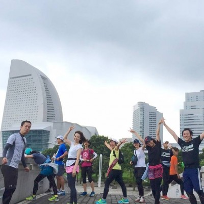 RUN & SPA & French in Yokohama August