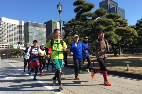 ランステ:「東京」の「新コース」試走 街ラン 42km(30kmの部併設) 12月①