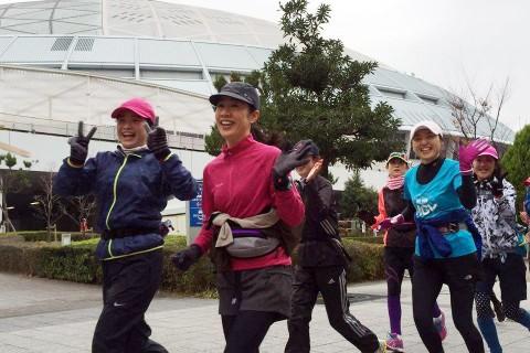 C3fit×Run up 『Womens'マラソンコース試走会【前半21kmコース】』