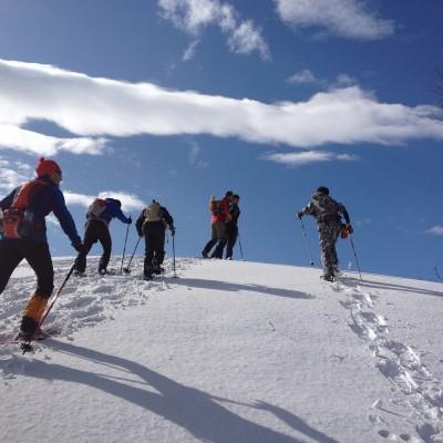 スノーシューでプチ雪山登山!
