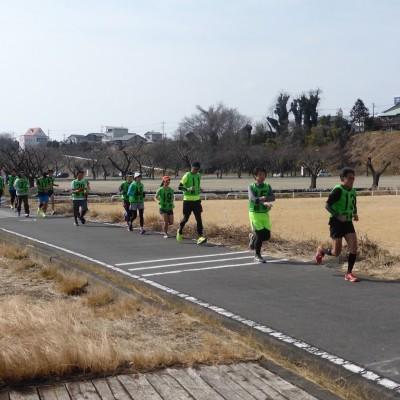 参加者の走力に応じてグループ分けをするので安心です。