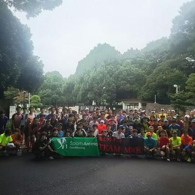 レースに向けた代々木公園周回10~16km走【Team MxK】