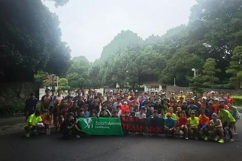 【MxK平日練習会】代々木公園7周8.12km+1km