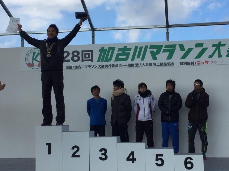 加古川マラソンチャンピオン・奈良マラソン4位・福知山マラソン5位(いずれも2016年)日光杉並木マラソン2位(2017)函館マラソン6位