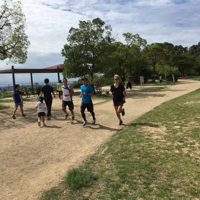 灘 丸山公園にて練習会