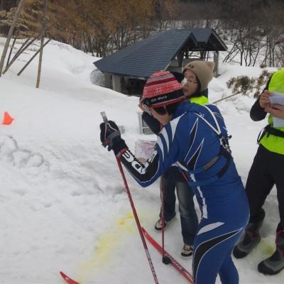 スキーOスタート風景
