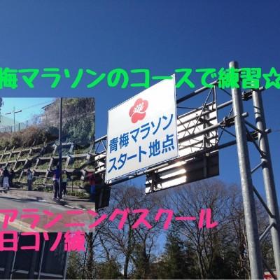 平日コソ練「憧れの青梅路30km試走☆初心者~サブ4目標」