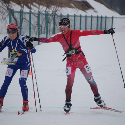 スキーOリレー