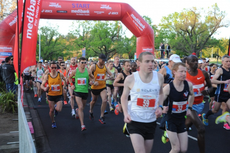 メルボルンマラソンの写真(3)
