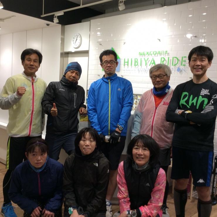 ランステ公認練習会:皇居外苑「変化走」(キロ約5分)3月