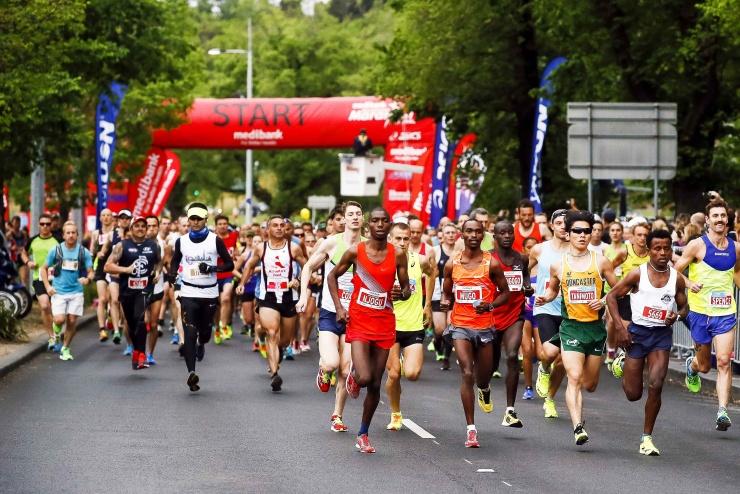 メルボルンマラソン(1)