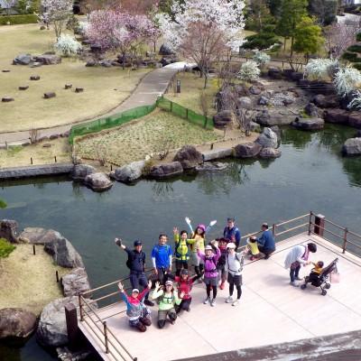 池田城跡から見下ろす絶景