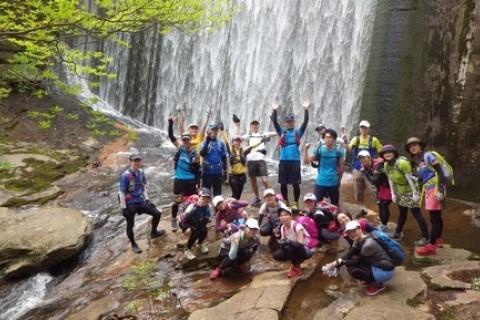 心と体癒しの赤目四十八滝絶景トレイルラン