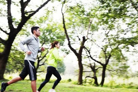 ジョギング教室+6キロ走