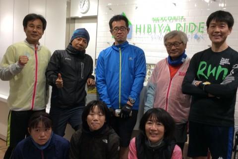 ランステ公認練習会:皇居外苑「変化走」(キロ約5分)5月
