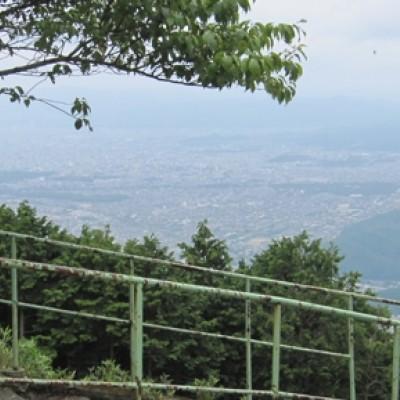 やんちゃ村の 京都一周トレイル4分割マラニック その2 東山から北山へ編 約25km