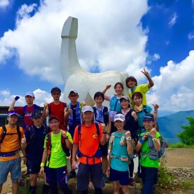 陣馬山トレイルランニング
