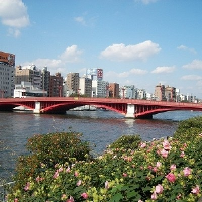 約10km地点が2020マラソンの折り返し、吾妻橋の西詰は淺草駅です。