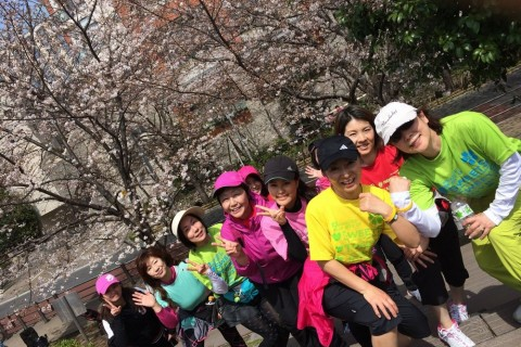 [JoyRun☆ 784th]プレミアムフライデー3月・お花見ジョイラン