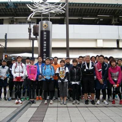 平日午後は中野サンプラザから武蔵野に神田川水系を観光ラン21km&16km&10km&5km