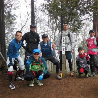 高取山コース  18キロ