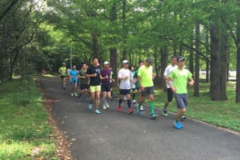 4月度走力アップ練習会 滋賀県希望が丘文化公園