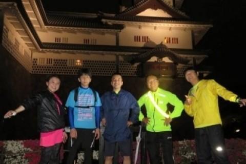 [JoyRun☆805th]ランで旅する<金沢ナイトラン・ライトアップな街>