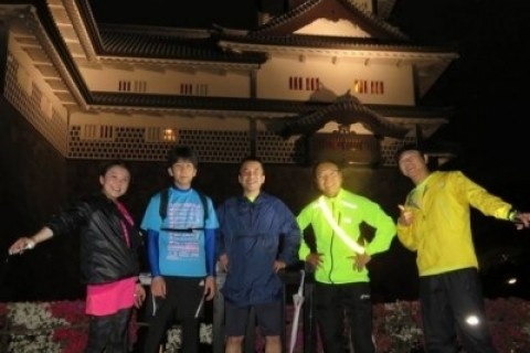 [JoyRun☆822nd]ランで旅する<金沢ナイトラン・ライトアップな街>