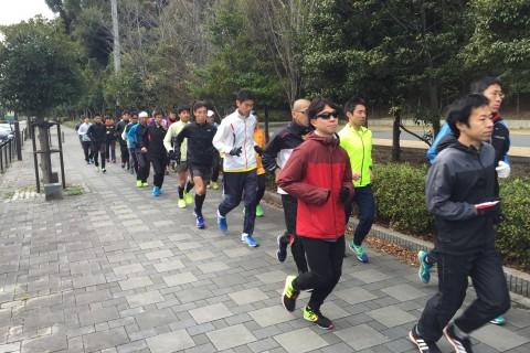 T.T-Athlete Club 30km走練習会